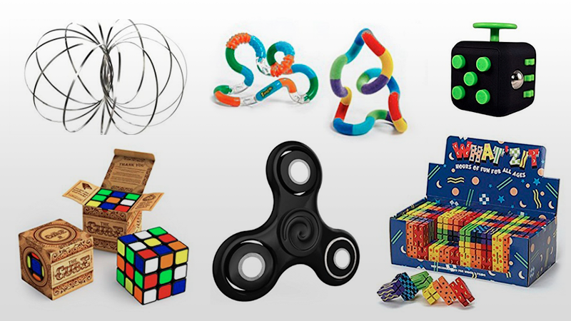 When Attention Wanders, Fidget Toys to the Rescue